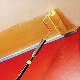 Técnicas para pintar techos. El uso del blanco confiere una sensación de espacio, pero el uso de colores oscuros o medios de calidez